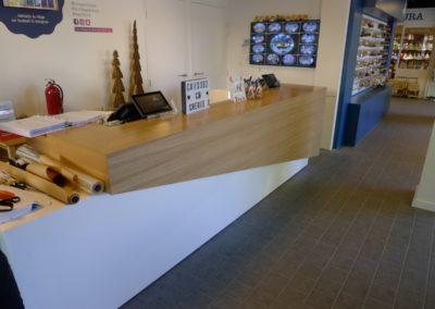 Banque d'accueil - Design Atelier A.LACKER