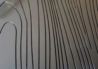 Texture Veinage contemporain Atelier A.LACKER